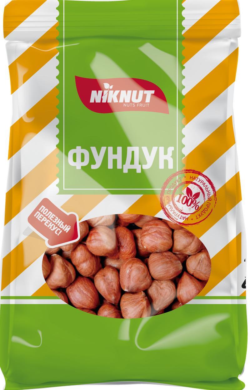 Орехи NIK NUT перекуси здОрово, Фундук, 130НТ000001446Ядра фундука сушеного