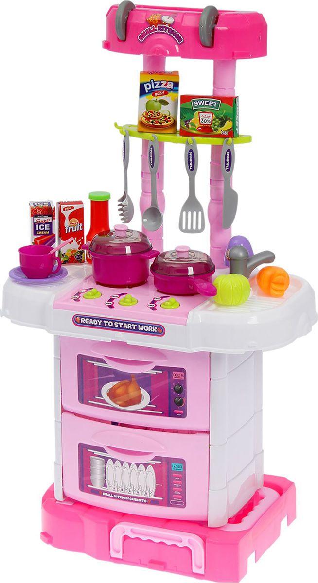 Игровой модуль Кухня,, 17673741767374Замечательная сюжетно-ролевая игра в хозяюшку станет еще увлекательнее вместе с этим набором. Бесконечная детская фантазия подскажет не один способ использования аксессуаров. Кухня научит девочку быть хозяйственной, заботливой и поможет освоить социальные роли.