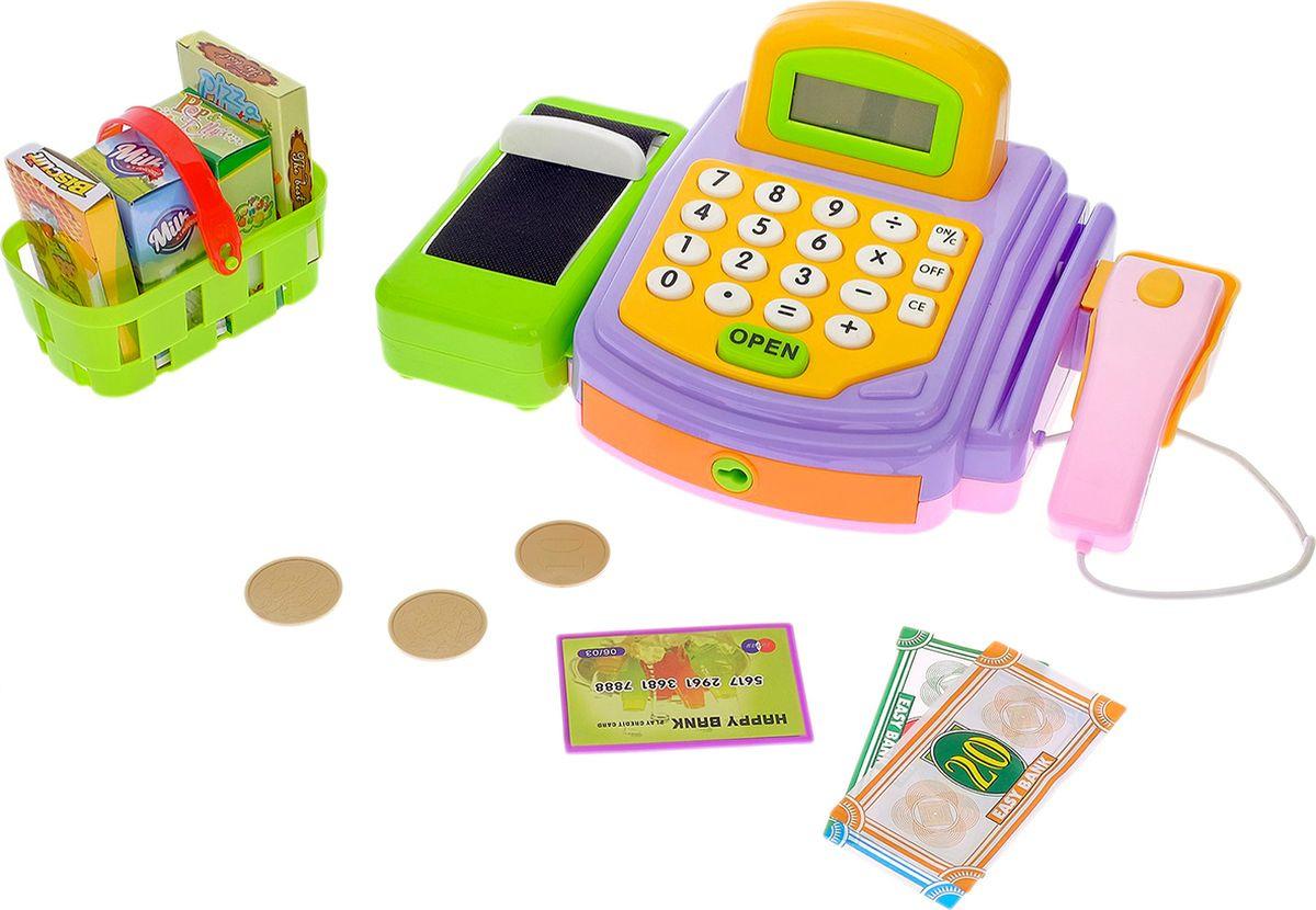 """Игровой набор """"Крутой магазинчик"""", со сканером, корзиной и аксессуарами, 2337195"""