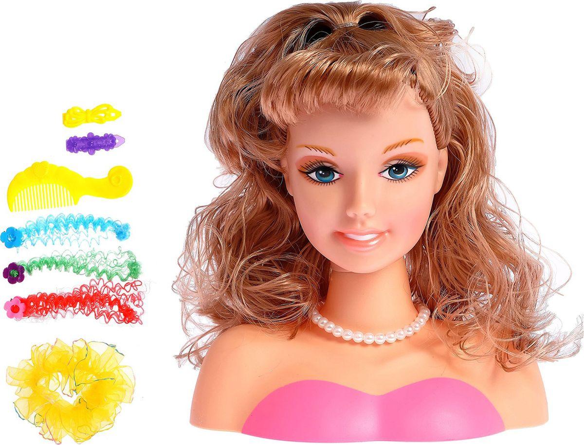 """Кукла-манекен для создания причесок """"Модница"""", с аксессуарами, 2683129"""