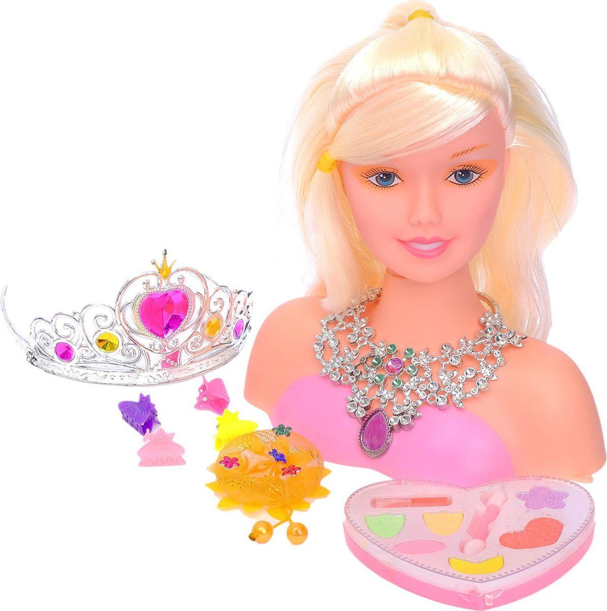 "Кукла-манекен для создания причесок ""Stefany"", с аксессуарами, 2765624"