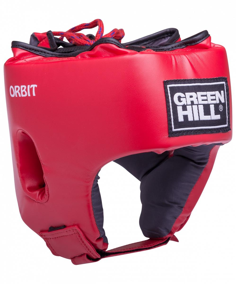 Шлем боксерский Green Hill ORBIT HGO-4030 детский, УТ-00009386, красный