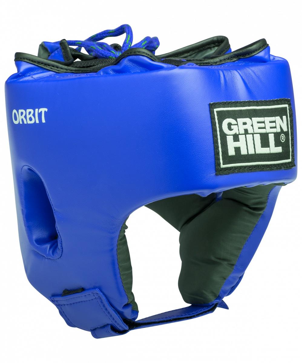Шлем боксерский Green Hill ORBIT HGO-4030 детский, УТ-00009387, синий