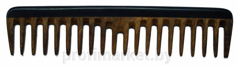 Расческа Dewal Сандал, CO-6WP09, редкозубая, 16.8 см dewal расческа для укладки 3 х рядная с искуственной щетиной цвет фиолетовый br6935