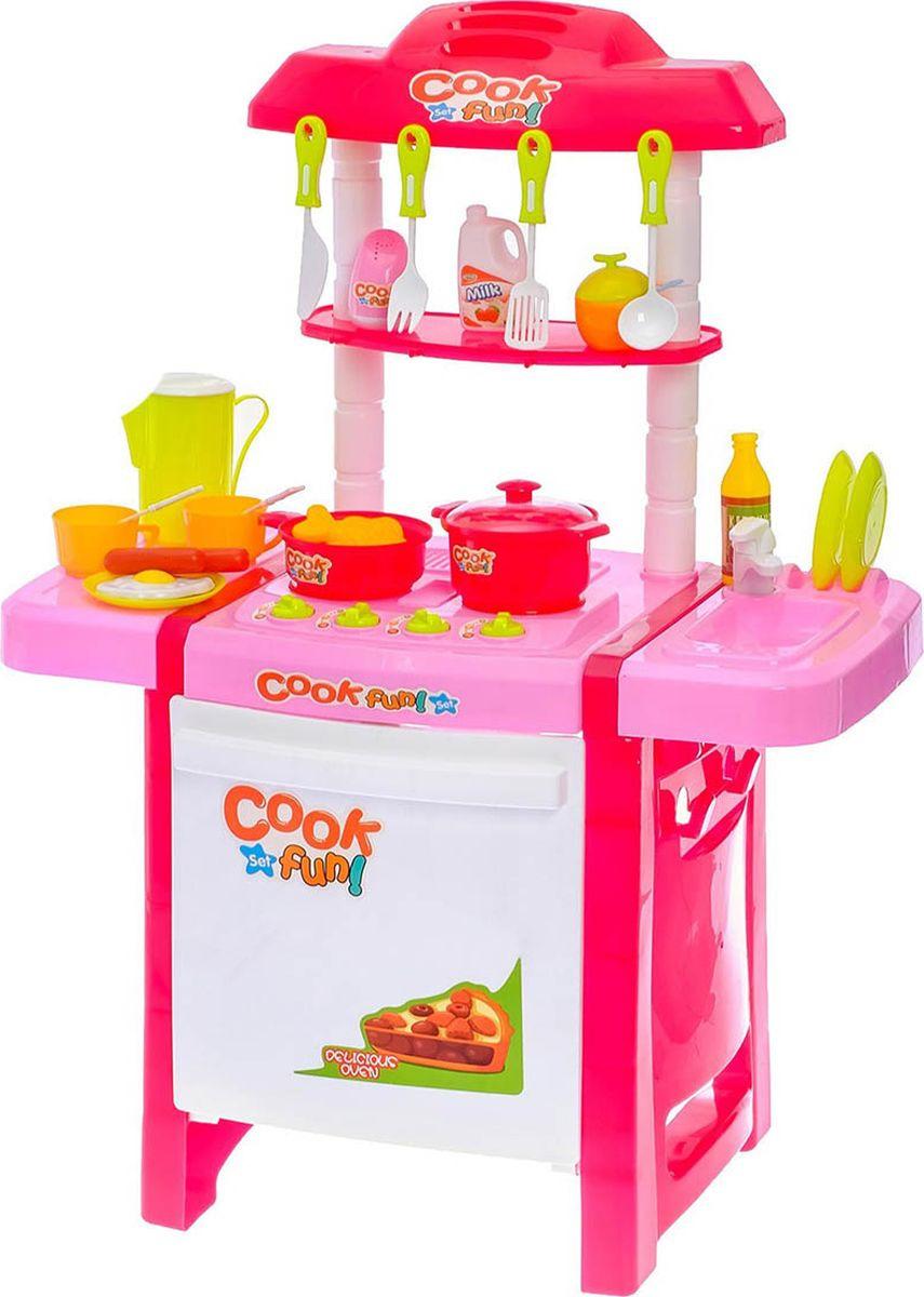 """Игровой модуль кухня """"Готовим вместе"""", световые и звуковые эффекты, 3289299"""