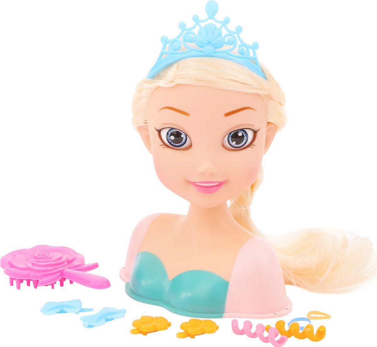 """Кукла-манекен для создания причесок """"Стильная принцесса-2"""", 3289321"""