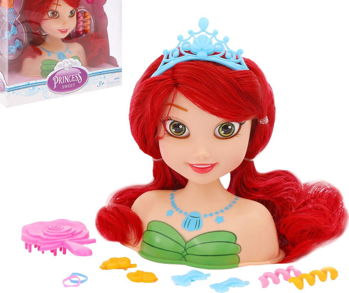 """Кукла-манекен для создания причесок """"Стильная принцесса-1"""", с аксессуарами, 3289323"""