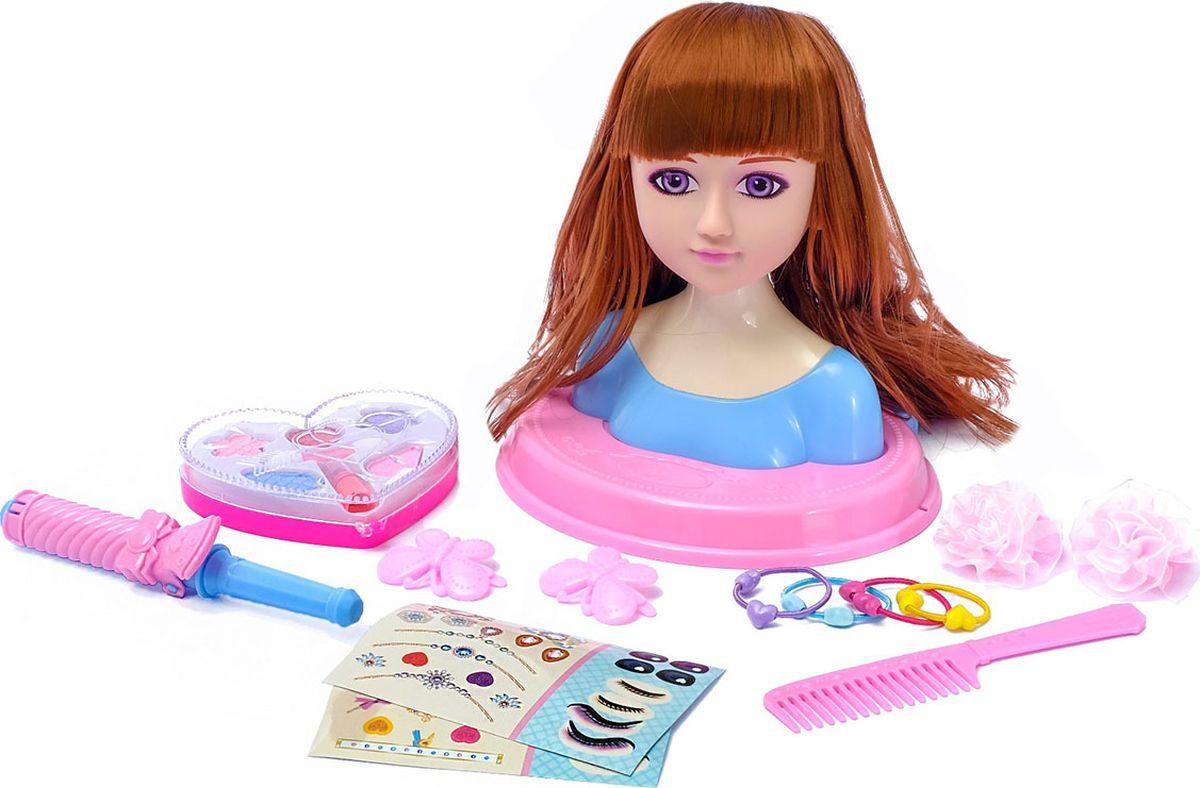 """Кукла манекен для создания причесок """"Стилист"""", с аксессуарами, 3580651"""