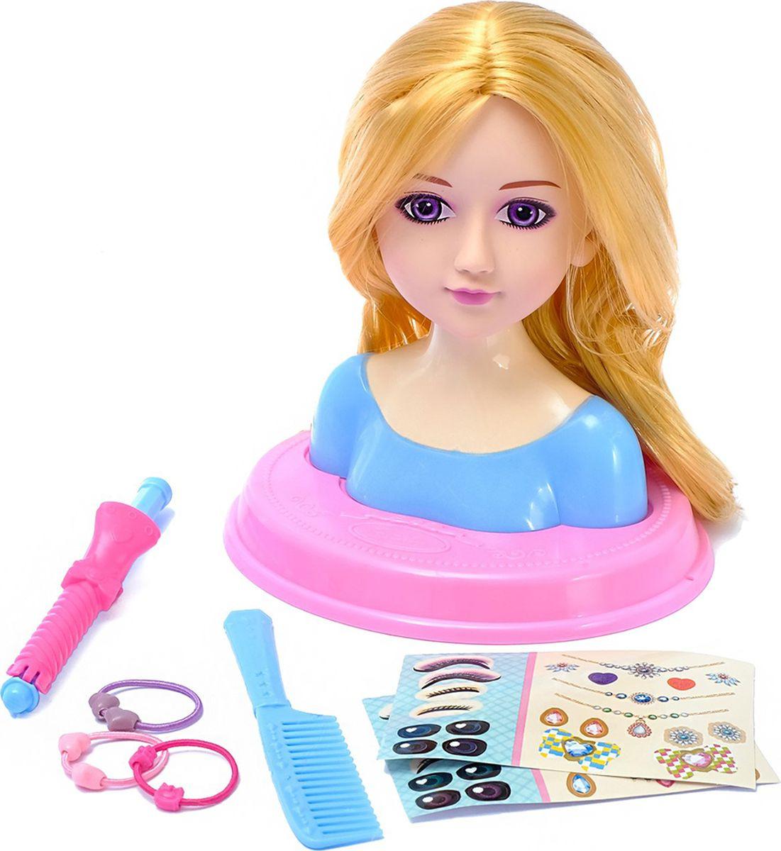 """Кукла манекен для создания причесок """"Маленькая модница"""", с аксессуарами, 3580653"""