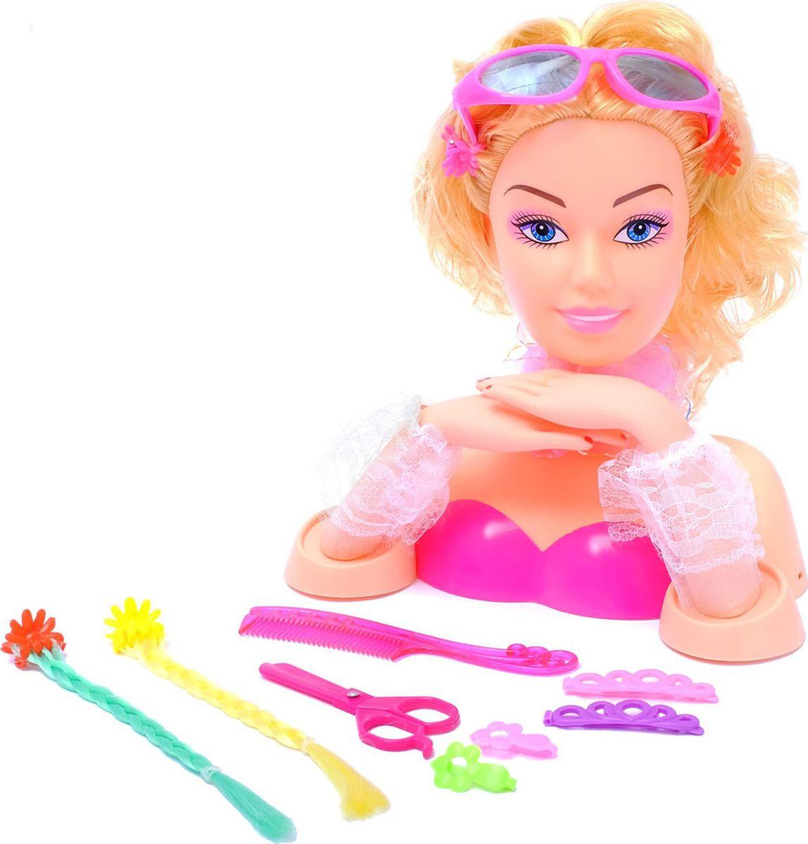"""Кукла манекен для создания причесок """"Стильная леди"""", с аксессуарами, 3580655"""