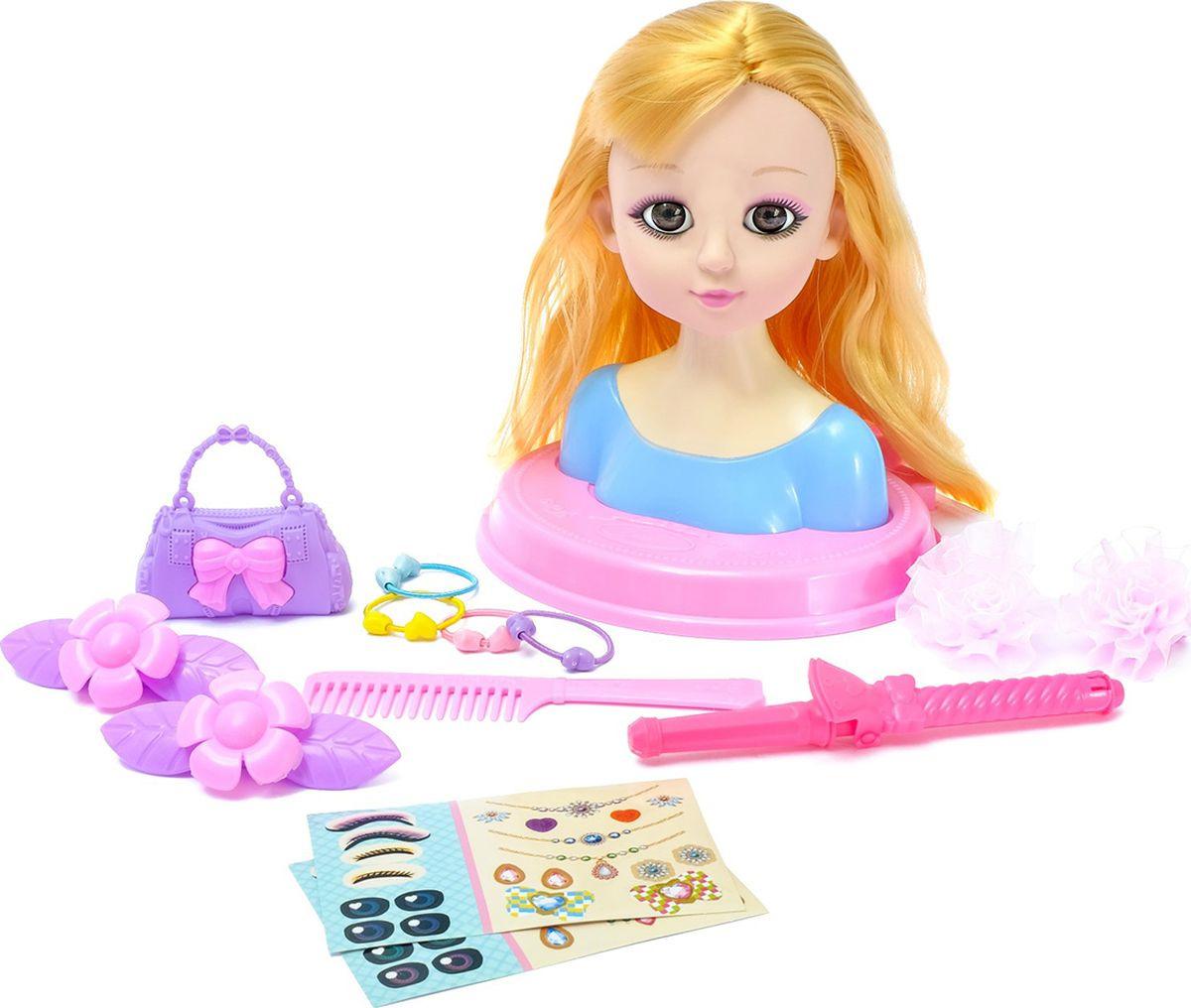 """Кукла манекен для создания причесок """"Милый парикмахер"""", с аксессуарами, 3580661"""