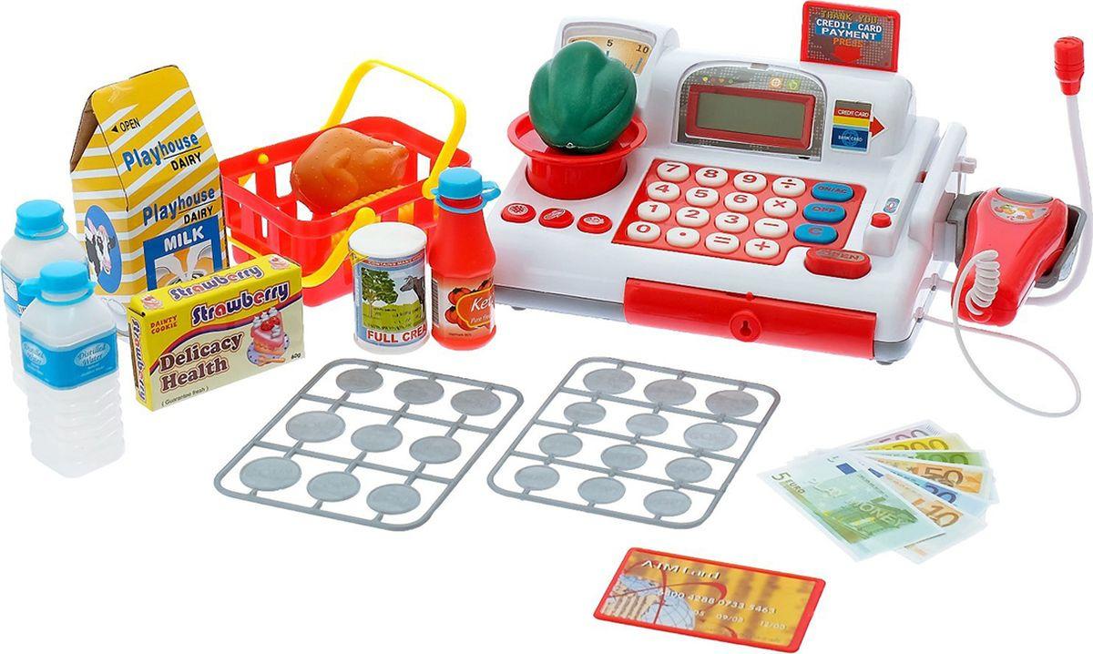 """Игровой набор """"Супермаркет"""", с корзинкой и весами, 3670895"""