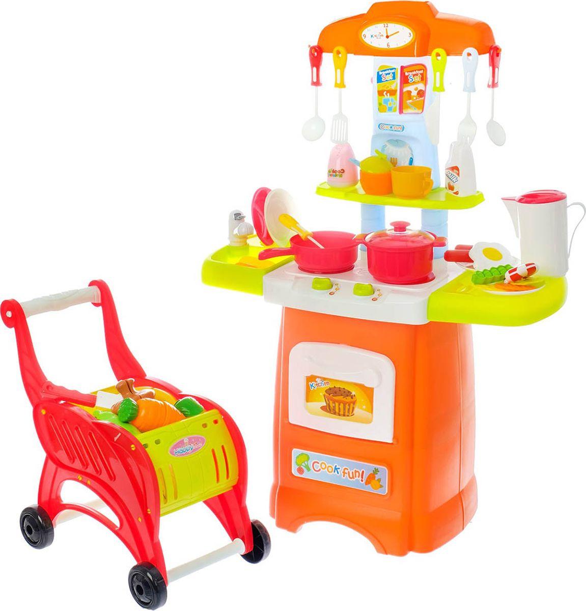 """Игровой модуль кухня """"Апельсин"""", с тележкой, 3708697"""