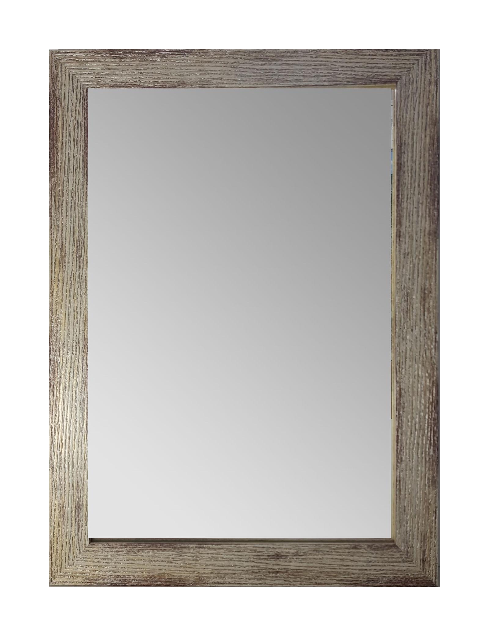 """Зеркало интерьерное GoldBasket Bark, GBR00473GBR00473Зеркало декоративное настенное """"Bark"""" в раме, 55 см на 40 см прямоугольной формы органично впишется в нео-классический интерьер. Багет приглушенного и приятного глазу оттенка продолжит стилистику помещения. Рамка придает аксессуару завершенный аккуратный вид. Зеркало незаменимо в доме для сохранения опрятности образа: примерки одежды, создании укладки, уходе за лицом. Помимо главных задач аксессуар визуально увеличивает потолки и делает помещение светлее. Толщина зеркала 4мм толстое и прочное! Устойчиво к влаге подойдёт для ванны, так же в комплекте крепление, можно повесить вертикально и горизонтально."""