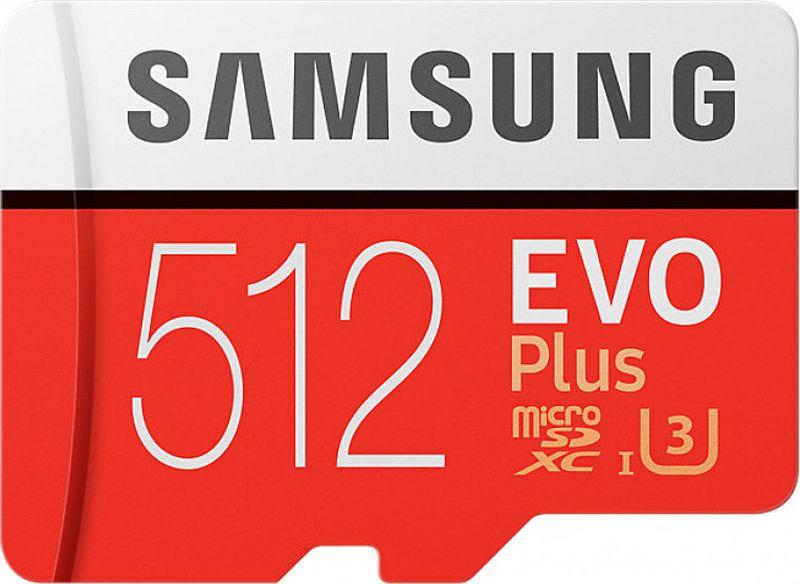 Фото - Карта памяти Samsung MicroSD EVO Plus, 512GB, MB-MC512GARU, белый, оранжевый видео