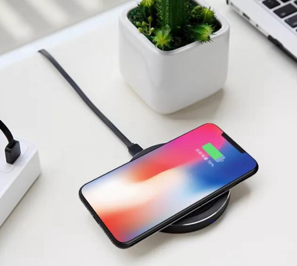 Беспроводное зарядное устройство REMAX Беспроводное зарядное устройство Proda RP-W4 для Iphone черный, Proda rp-w4 black, черный аккумулятор remax proda 30000 mah black