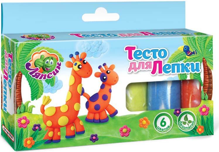 Набор для лепки Ляпсик 6 цветов, П101П101Благодаря данному продукту у детей развивается: логическое мышление; цветовосприятие; воображение; мелкая моторика.
