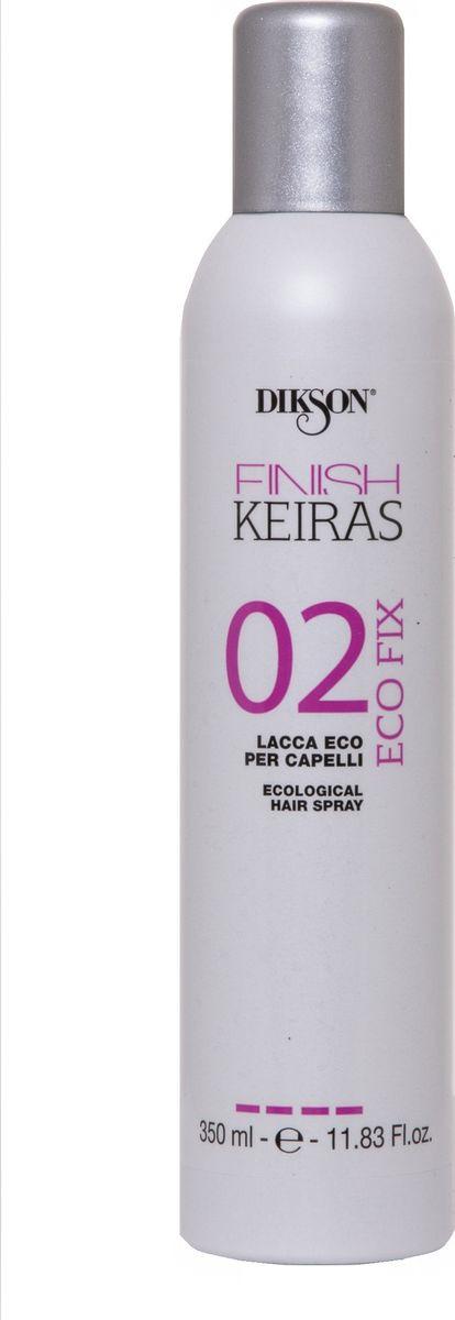 Лак для волос Dikson Finish Eco Fix 02, жидкий, экологический, сильной фиксации, 350 мл недорого