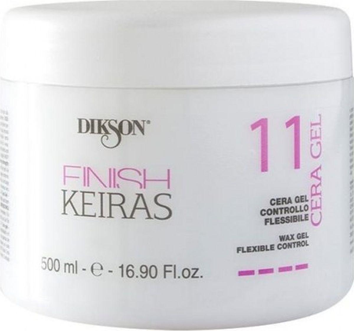 Воск-гель для волос Dikson Finish Cera Gel 11, 500 мл paul mitchell гель сильной фиксации для волос super clean sculpting gel 200 мл