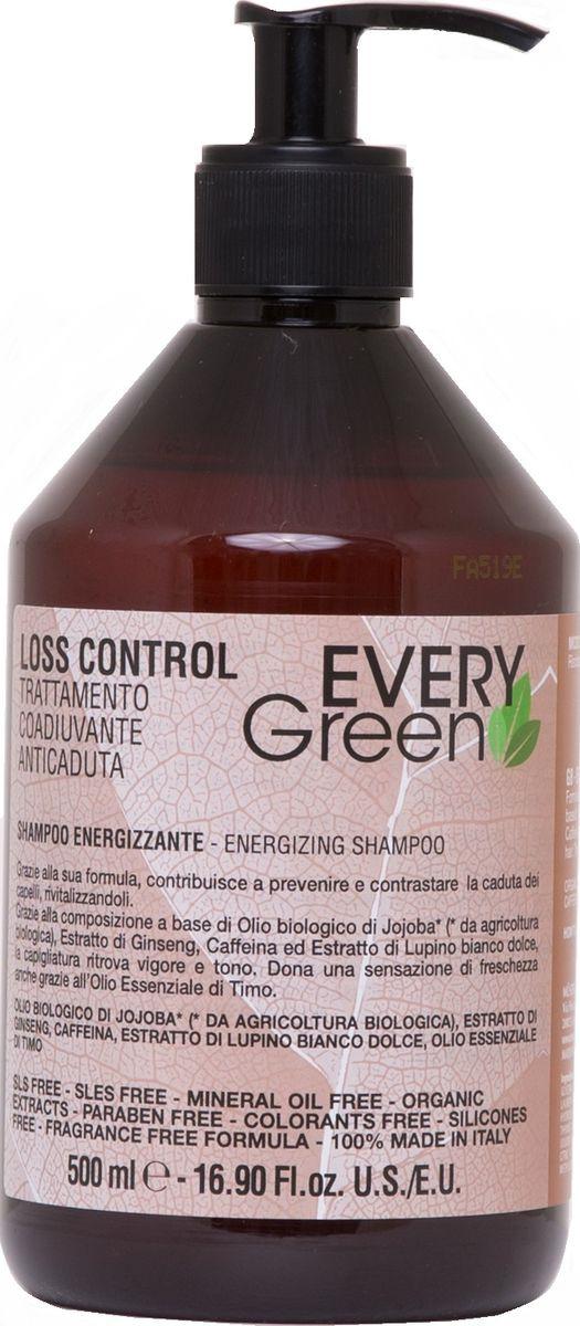 Шампунь для волос Dikson Loss Control Shampoo Energizzante-, против выпадения, 500 мл цена в Москве и Питере