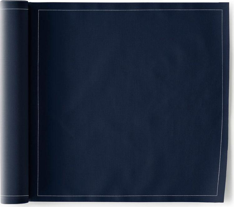 Салфетка столовая My Drap Royal Blue, Л8929, синий, белый, 12 шт в рулоне