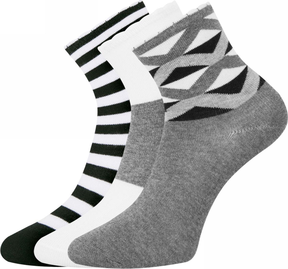 Носки oodji носки женские oodji цвет разноцветный 10 пар 57102703t10 47469 2 размер 35 37