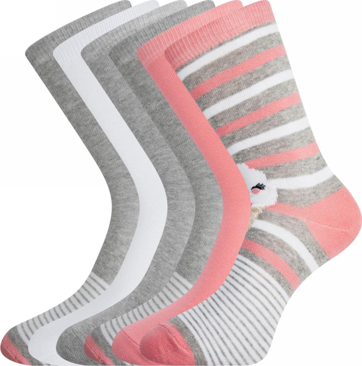 цена Комплект носков oodji онлайн в 2017 году