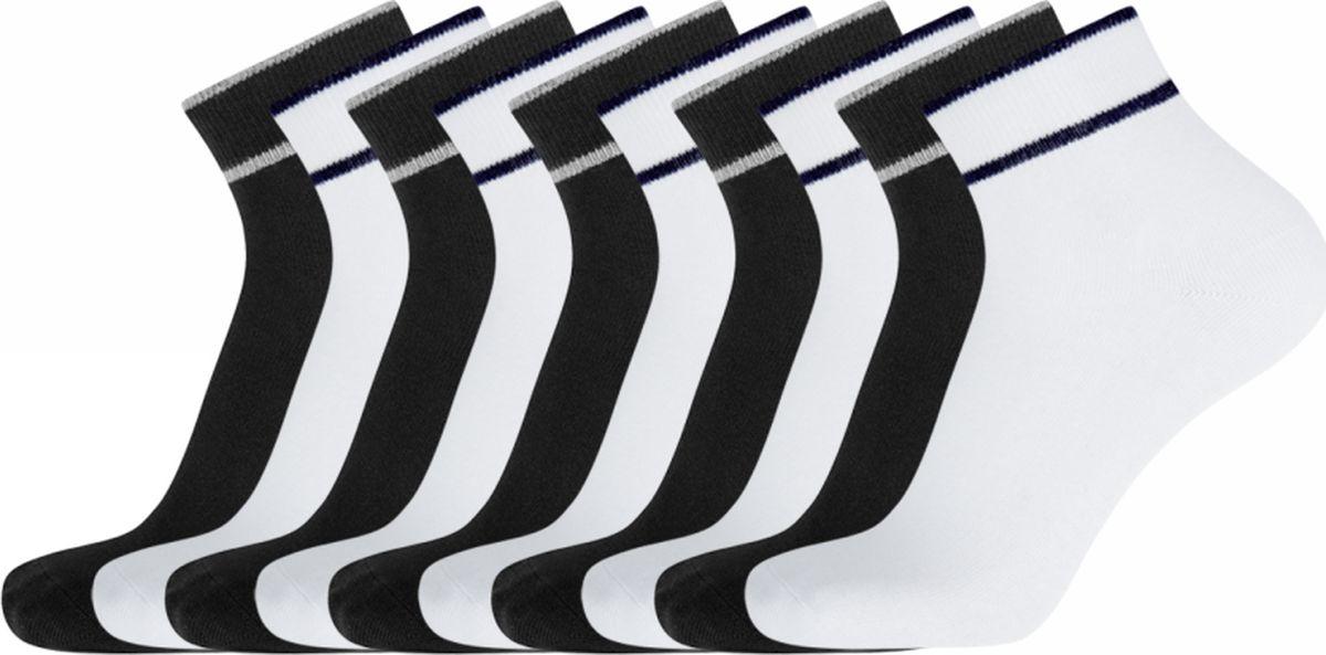 Носки oodji комплект из 5 пар однотонных коротких носков