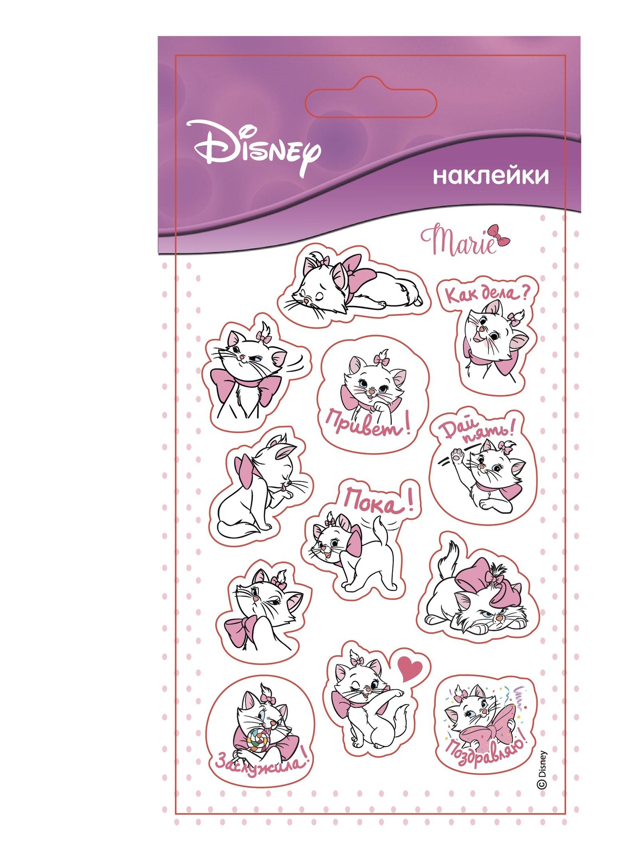 Набор наклеек Disney Наклейки Кошечка Мари