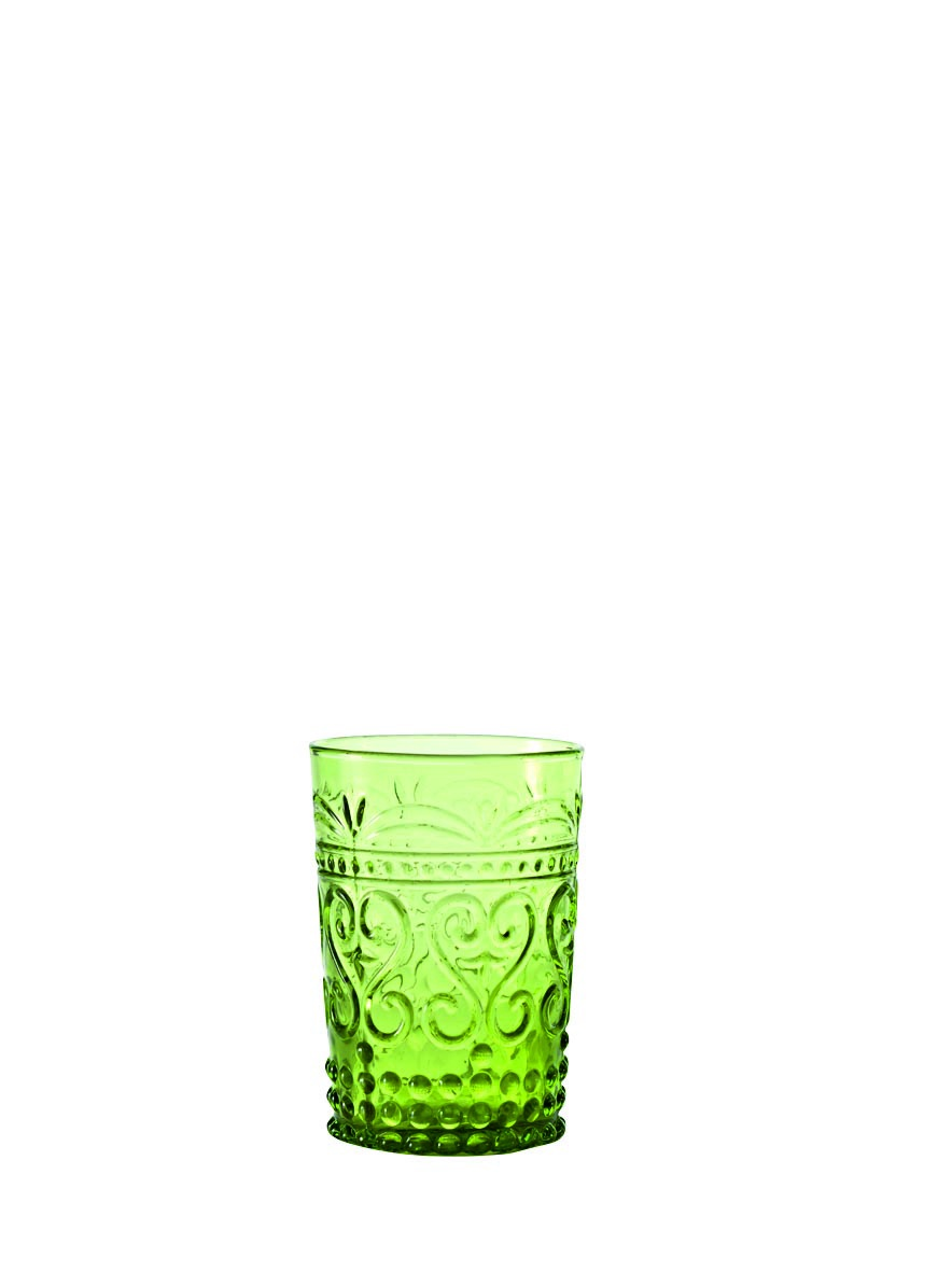 Бокал для сока, воды Zafferano Provenzale, PV00213, светло-зеленый, 270 мл