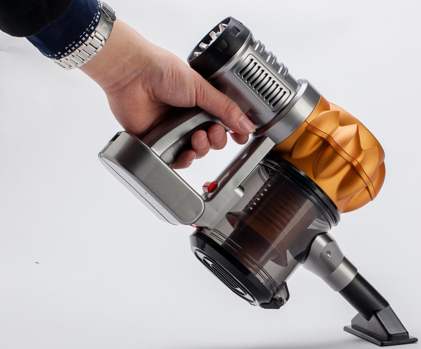 Ручной пылесос PROFFI автомобильный + запасной фильтр, оранжевый Proffi