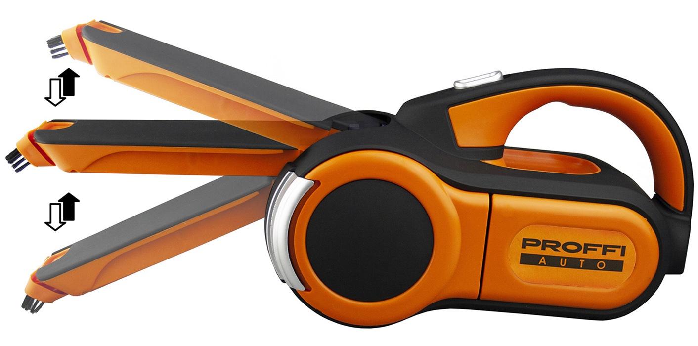 Набор пылесос автомобильный PROFFI Титан, оранжевый и ароматизатор для автомобиля MAPLELAND M402 PA0588 автомобильный пылесос proffi auto pa0329