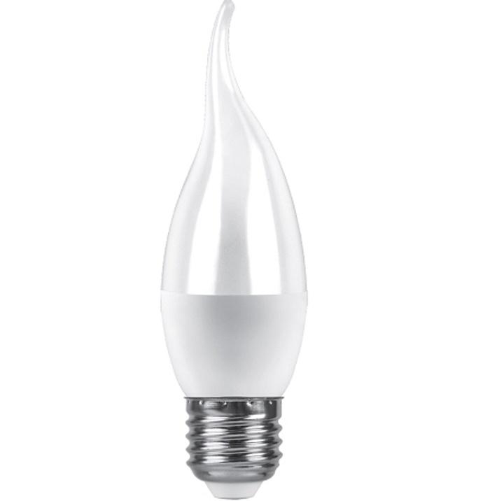 Лампочка Saffit Свеча на ветру, E27