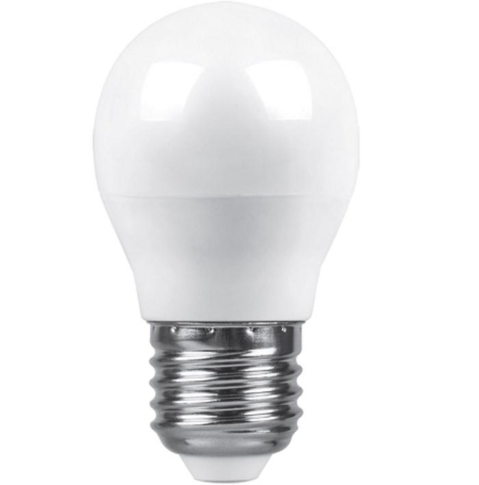 Лампочка Saffit Шар лампочка saffit e27 a65 25w 4000k 230v sba6525 55088