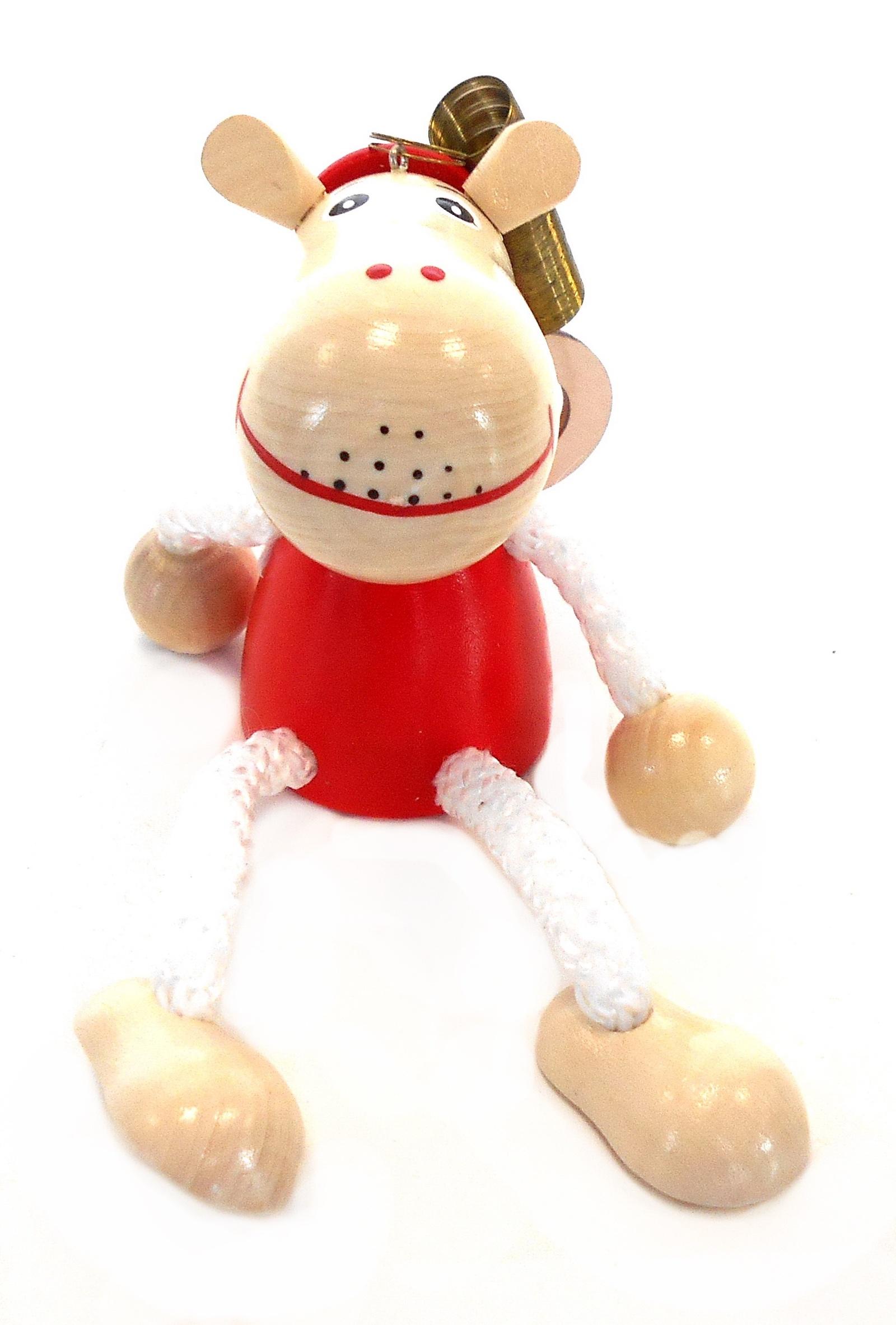 Игрушка детская Taowa Подвеска на пружине, красный