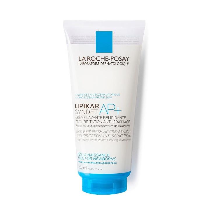 Крем для ухода за кожей La Roche-Posay Lipikar Syndet AP+, Крем-гель, для лица и тела очищающий крем гель для лица и тела la roche posay lipikar syndet ap 400 мл для очень сухой кожи
