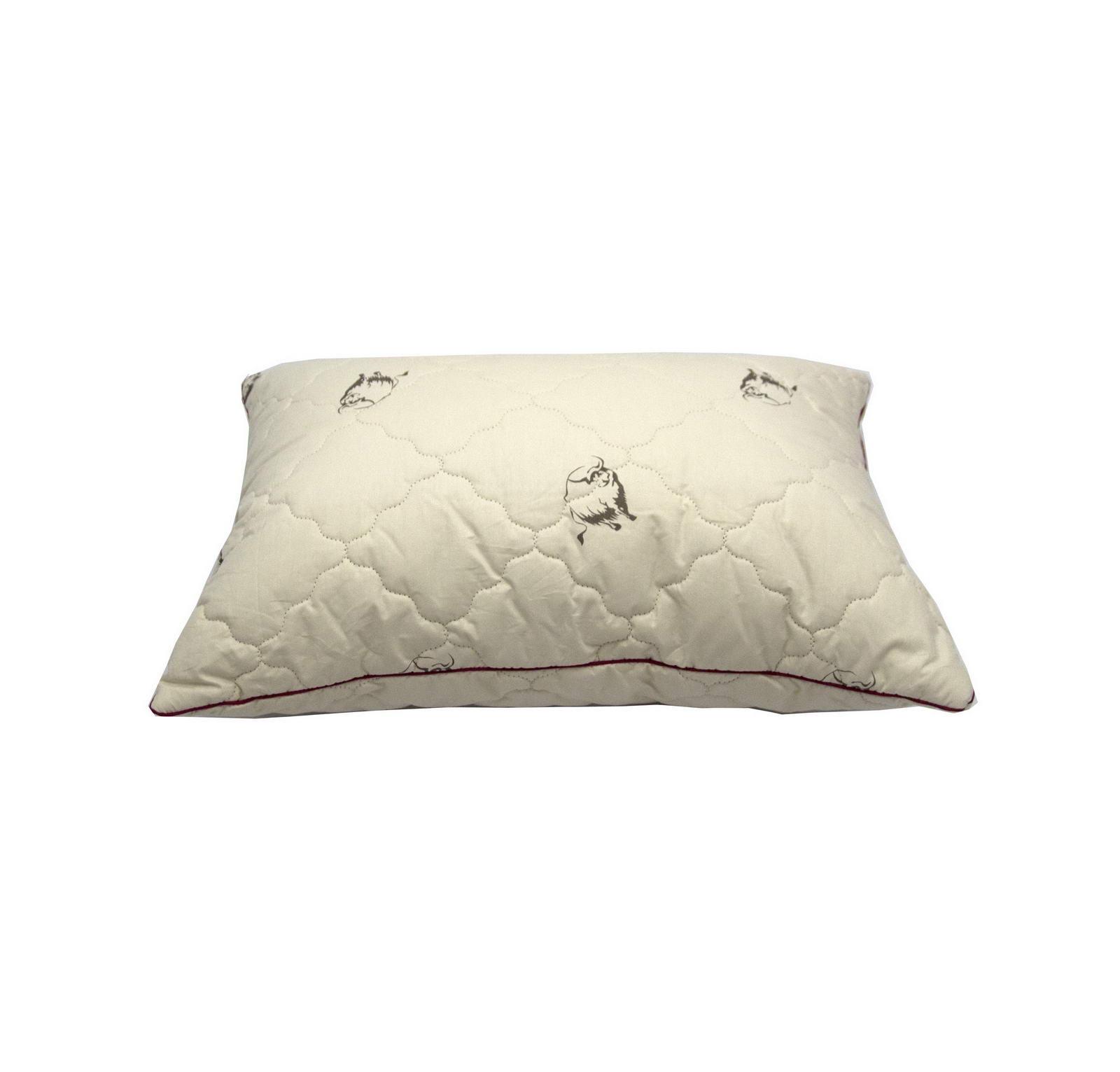 Подушка Sofi de Marko Шерсть Яка Од-Шя, 70 х 70 см одеяло славянский текстиль 140х205см шерсть яка 70%