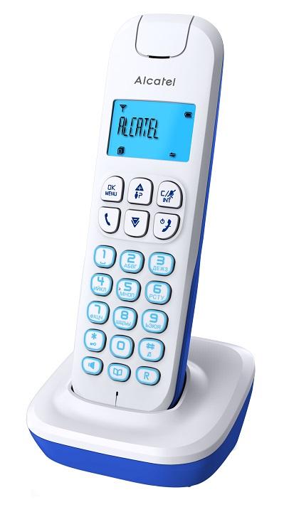 Радиотелефон ALCATEL E192 RU WHITE