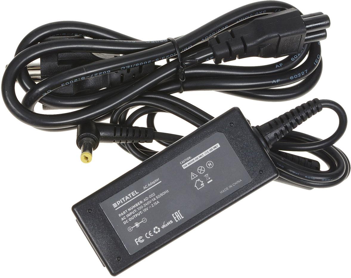 где купить Pitatel AD-002 блок питания для ноутбуков Acer (19V 2.15A) дешево