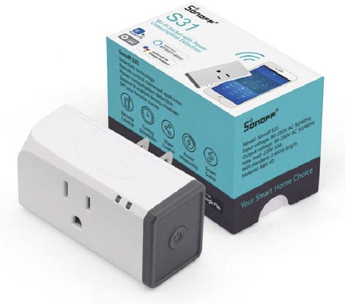 Контроллер умного дома Sonoff Sonoff S31, 3679, белый