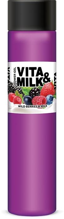 цены на Гель для душа Vita&Milk Лесные Ягоды и молоко 350 мл, 8000  в интернет-магазинах