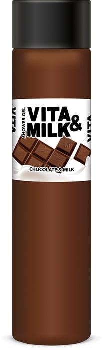 цены на Гель для душа Vita&Milk Шоколад и молоко 350 мл, 8000  в интернет-магазинах