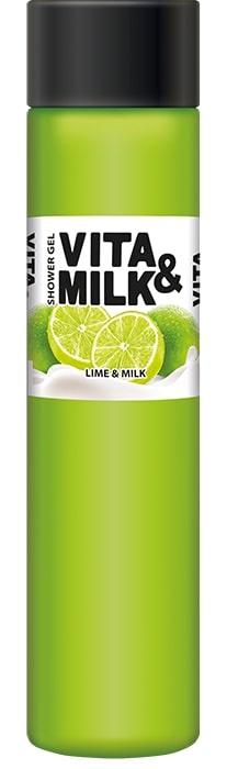 цены на Гель для душа Vita&Milk Лайм и молоко 350 мл, 8000  в интернет-магазинах
