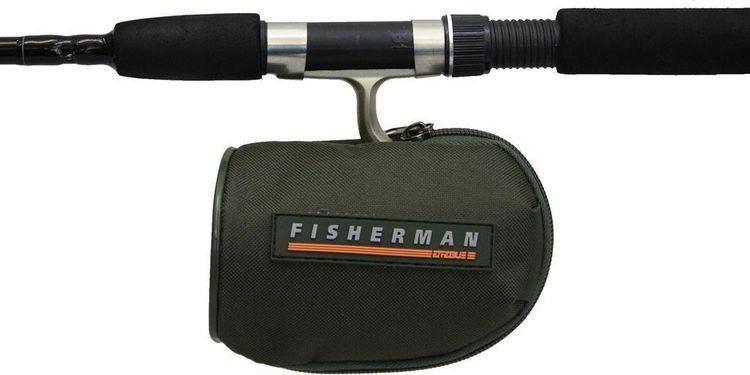 Чехол для рыболовной катушки Fisherman, ф131, зеленый чехол для снаряженной катушки aquatic