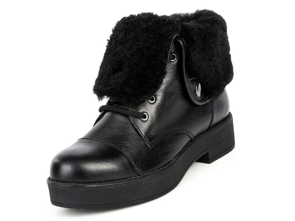 Ботинки Mida женские кожаные зимние ботинки