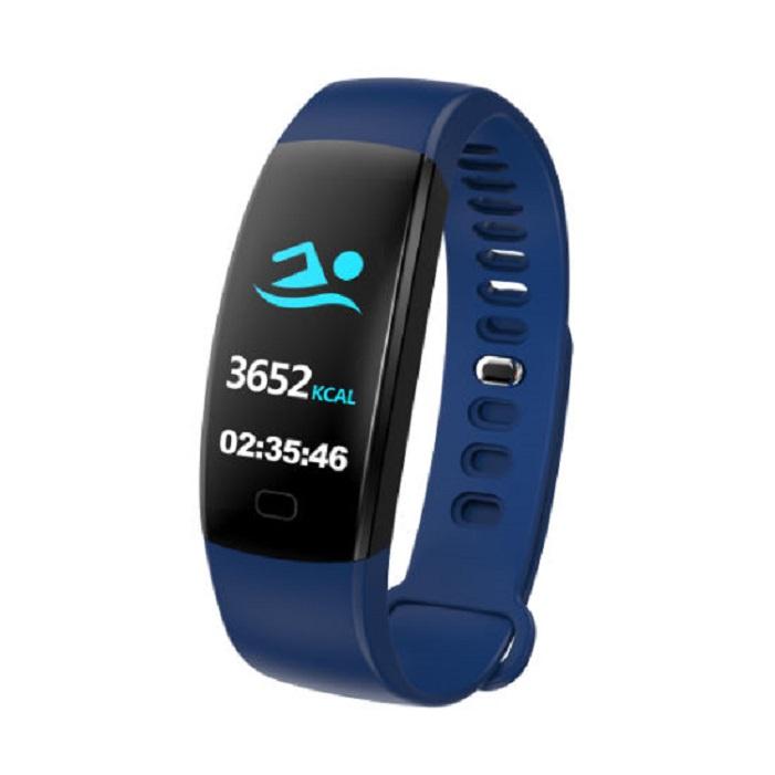 Фитнес-браслет ZDK F64 4703, синий умный браслет zdk f64 red