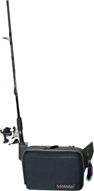 Сумка для рыбалки Fisherman, ф261, зеленый