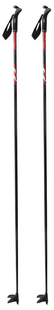 Лыжные палки Trek Universal, 00000005994, черный, желтый, 115 см цена