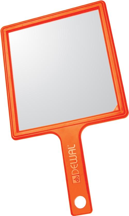 Парикмахерское зеркало Dewal MR-051, оранжевый