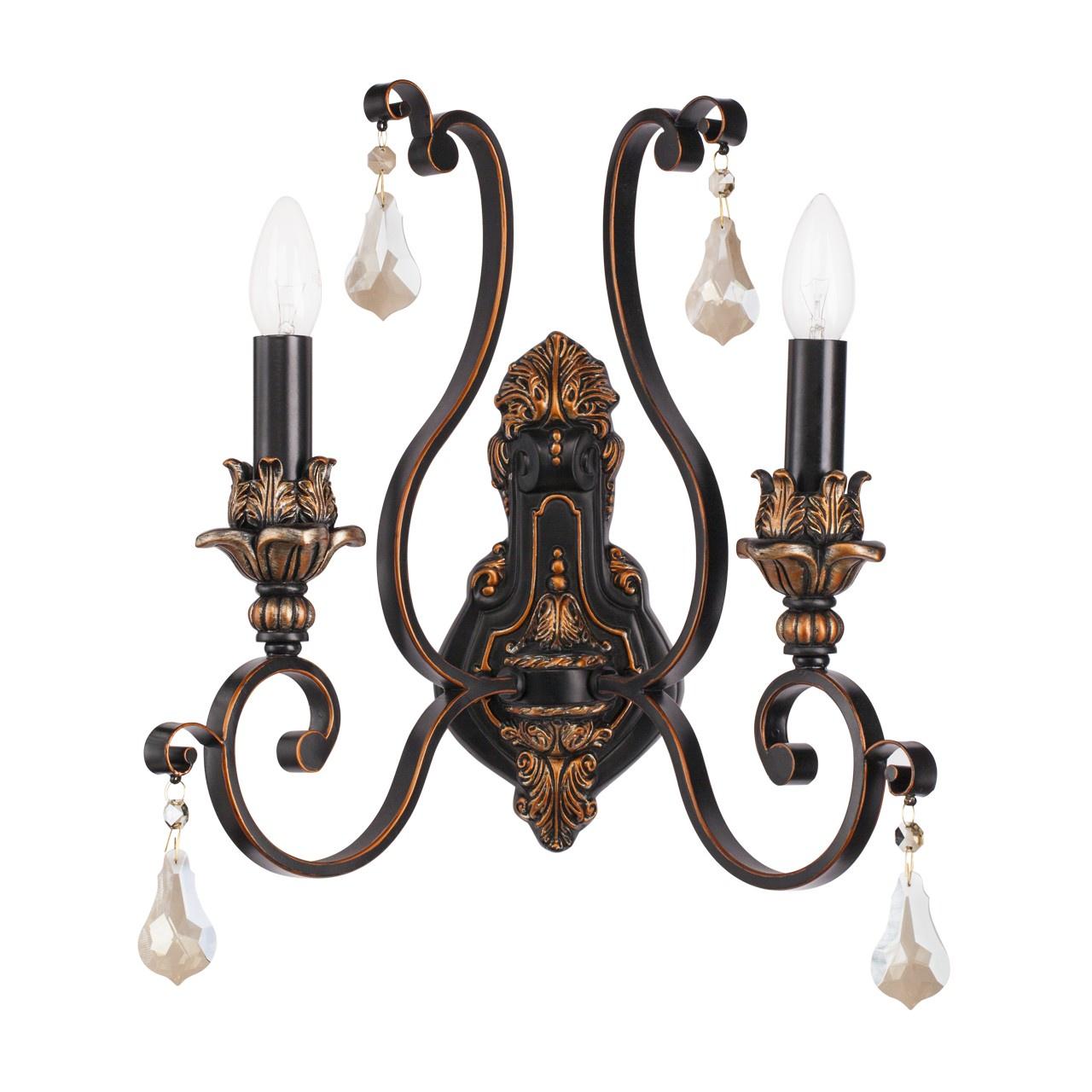 Настенный светильник Chiaro Версаче, E14